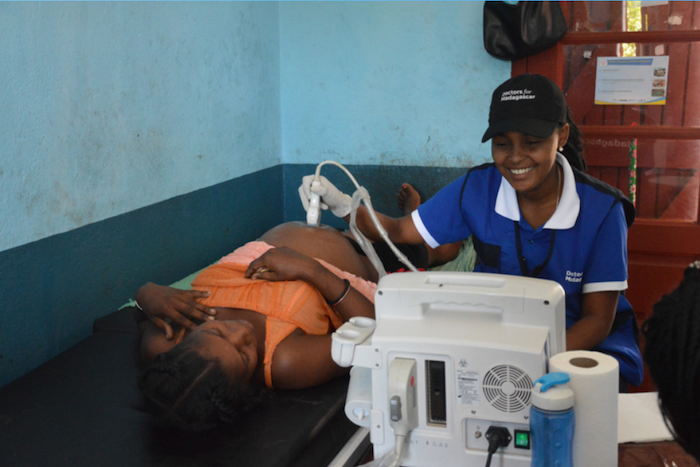 pregnant woman in Madagascar