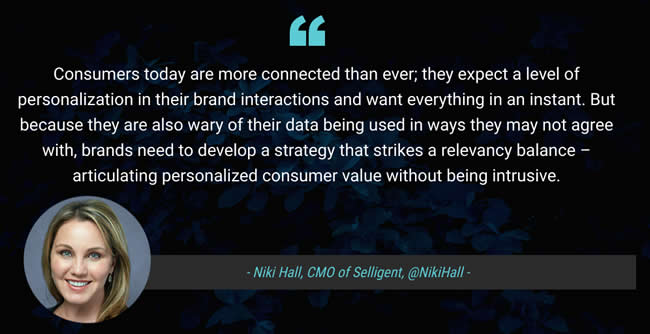 Selligent CMO Niki Hall comments on the Selligent Global Connected Consumer Index 2019 results