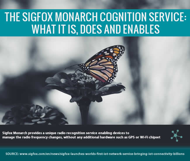 Sigfox Monarch IoT device cognition service