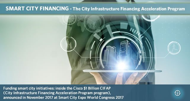 Smart city financing - the City Infrastructure Financing Acceleration Program