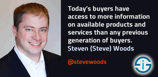 Steven Woods on buyers and information sources