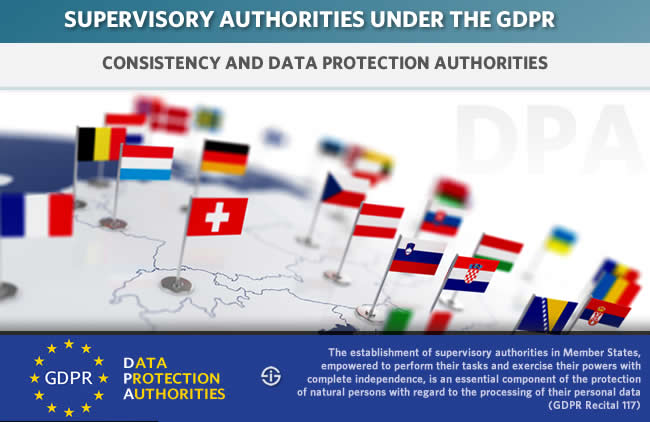 Supervisory authorities - GDPR consistency mechanism and data protection authorities DPAs