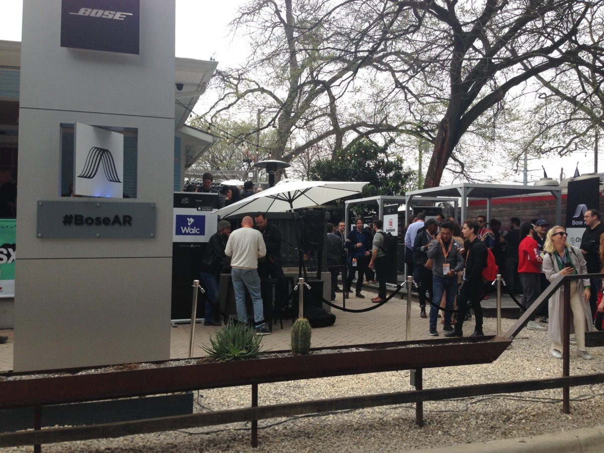 Tech Trends Bose Augmented Reality Laura Koby South By Southwest Austin SXSW2019