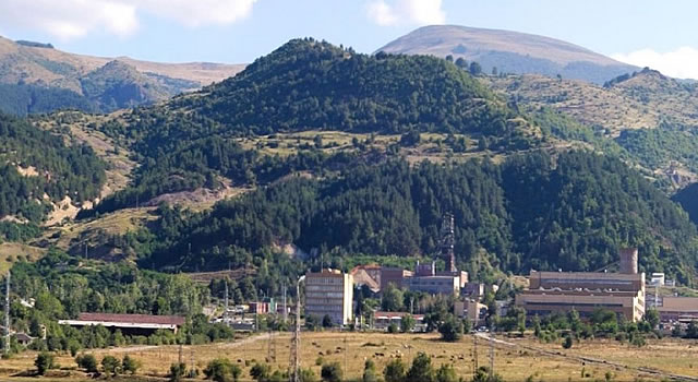 The Chelopech mine is one of the largest gold mines in Bulgaria and in the world according to Wikipedia - picture courtesy Mining Journal