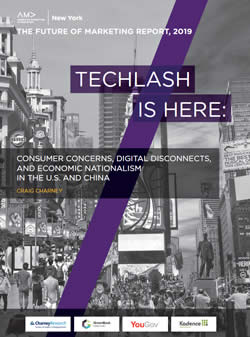 The Future of Marketing Report 2019 - techlash is here - download the report here