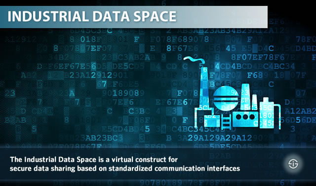 The Industrial Data Space is a virtual construct for secure data sharing based on standardized communication interfaces