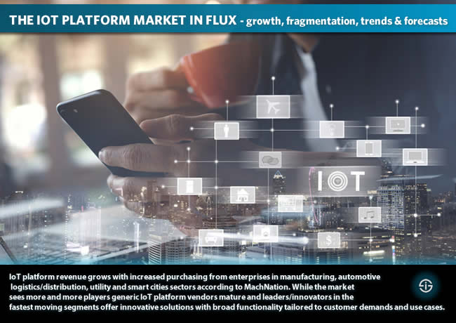 The IoT platform market is growing and crowded but leaders and innovators offer mature solutions for specific customer needs in a market that will reach USD3.3 billion in 2018