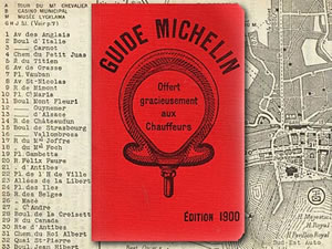 The Michelin Guide – an old one that is – source