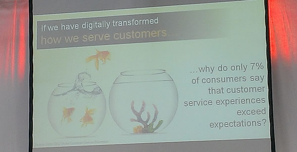 The reality of digital transformation - the customer service experience - presentation by Sameer Patel at CeBIT 2014