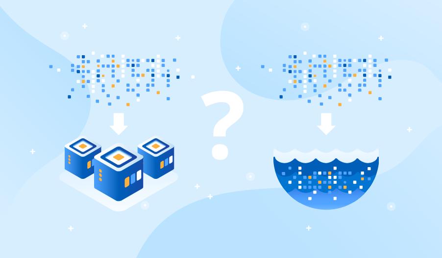 big data warehouse vs data lake