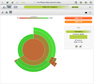 BigML Sunburst Visualization