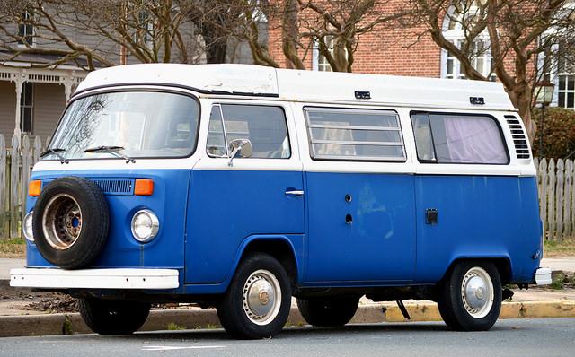 Blue Car, by Bill Smith