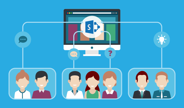 Crossing departmental borders with a SharePoint collaboration site