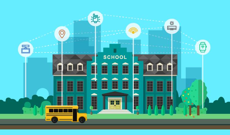 How IoT influences education
