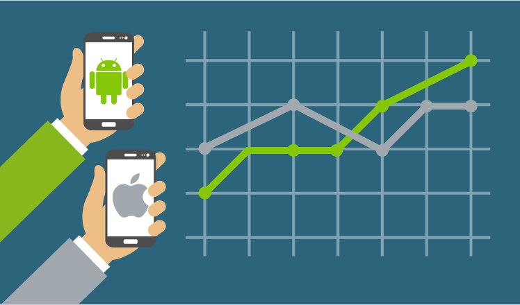 Why Android is predicted to finally beat iOS in app revenue