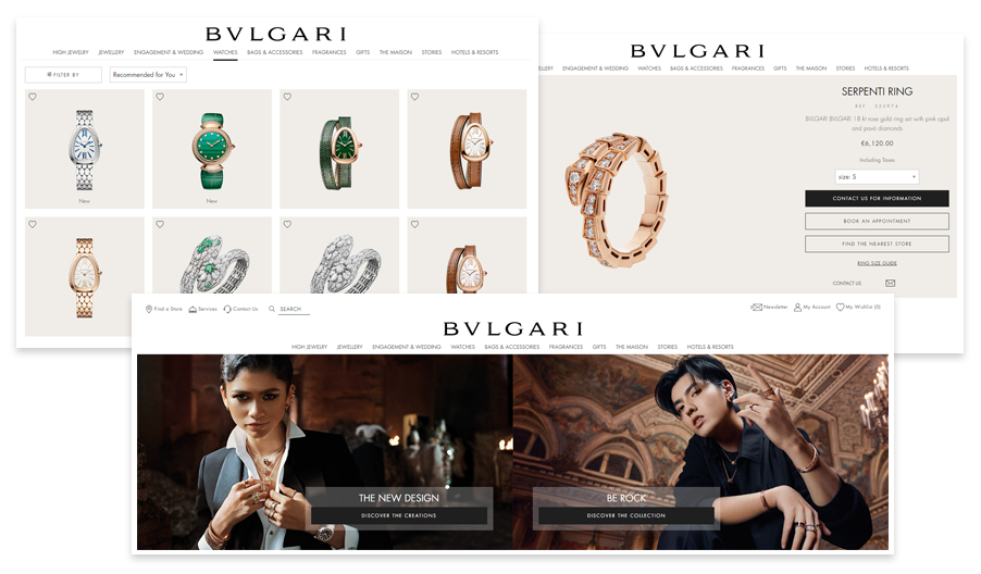 Website built on Magento Commerce