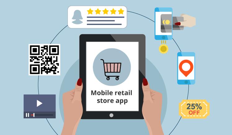 Mobile retail store app