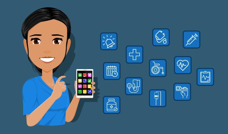 Overview of problem-solving nursing apps