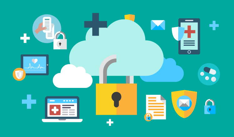 Protection of healthcare data on clouds