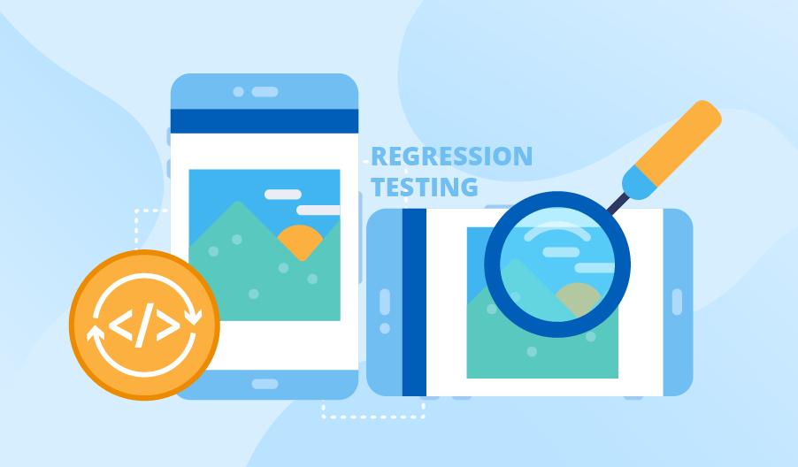 Regression testing example