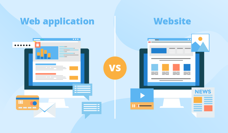 Web application vs. website