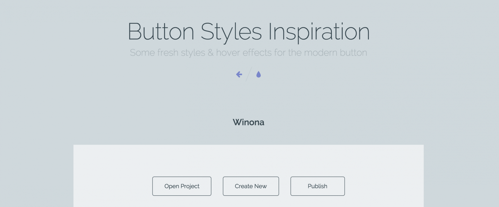 Button Styles Inspiration in Your UX Toolkit