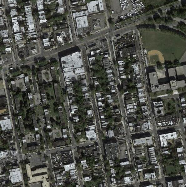 Example of a Cropped Satellite Image to Use as Input to the Pix2Pix Model.