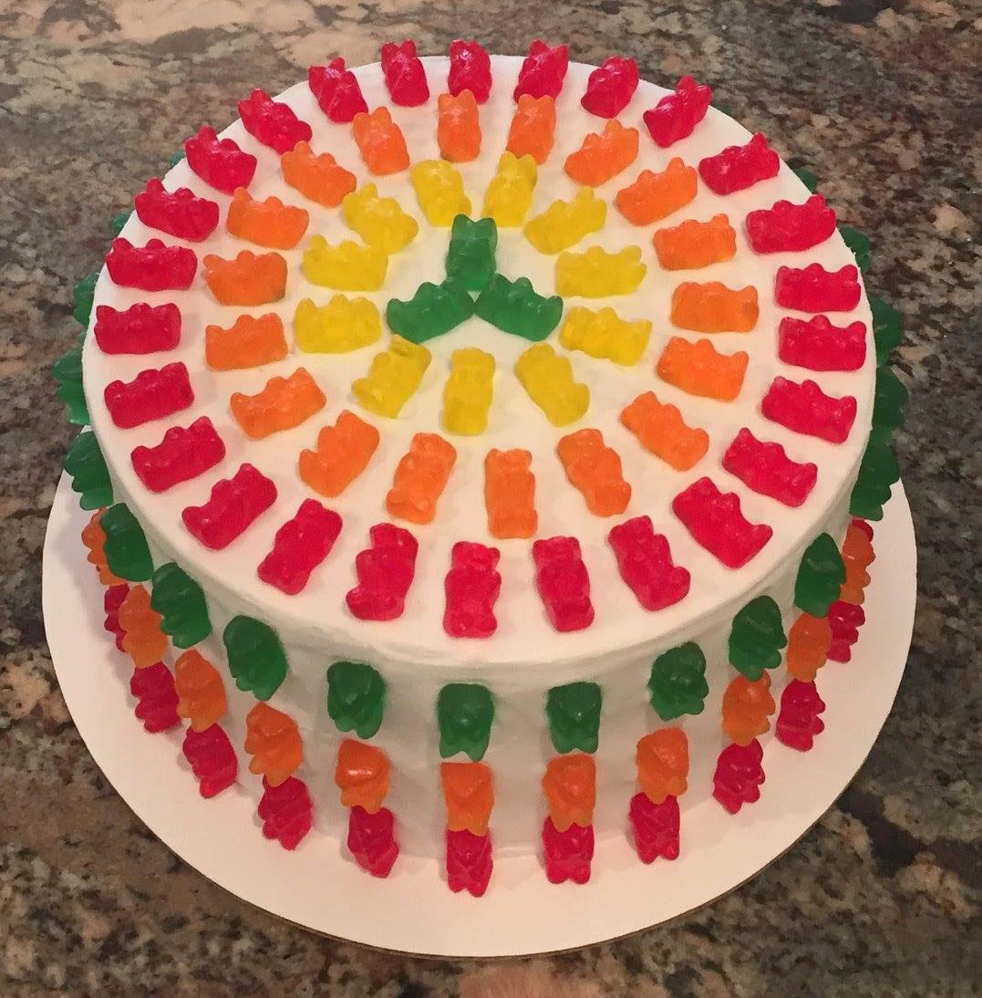 GummyBear Cake by Cakes by Lynn