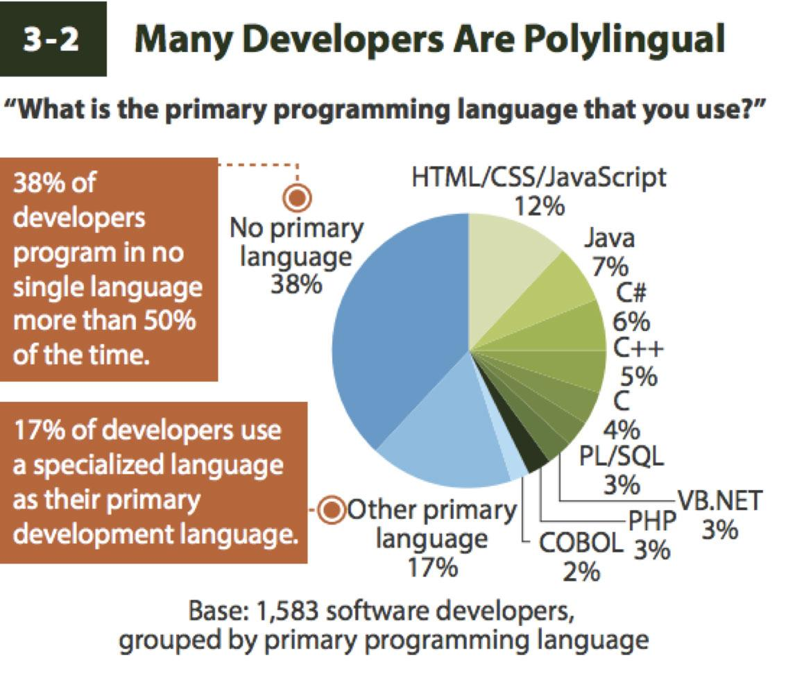 Many Devs are Polylingual