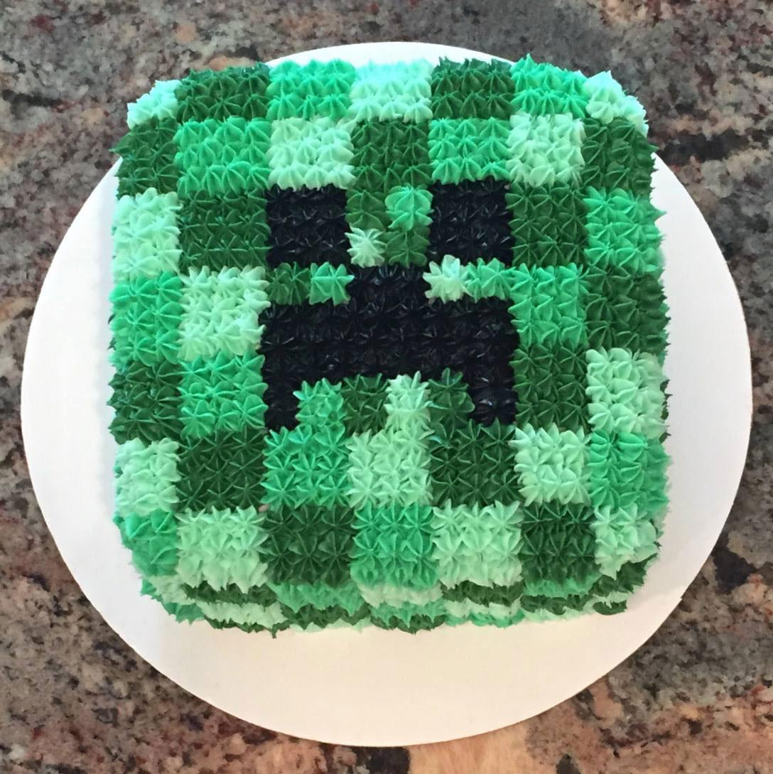 Minecraft Cake by Cakes by Lynn
