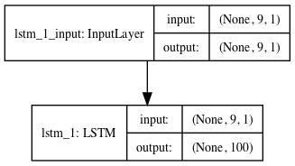 Standalone Encoder LSTM Model