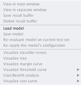 Weka Load Model From File