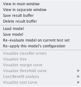 Weka Revaluate Loaded Model On Test Data And Make Predictions