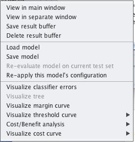 Weka Save Model to File