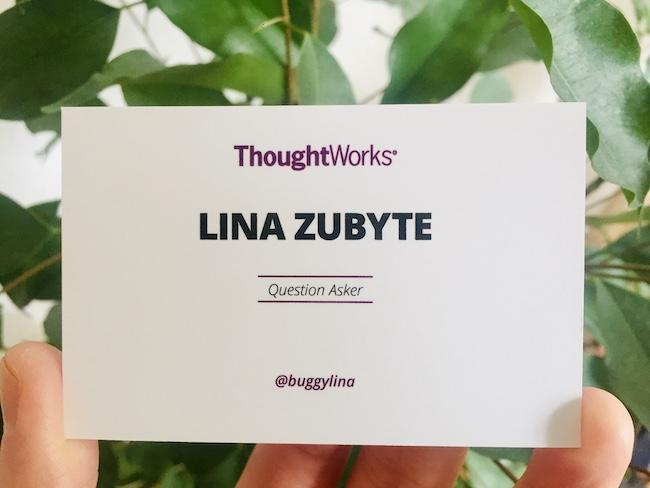 Business card lina