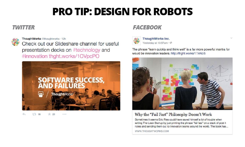 Design for Robots