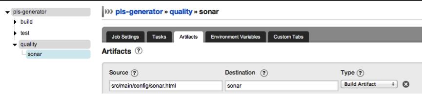 Go and Sonar