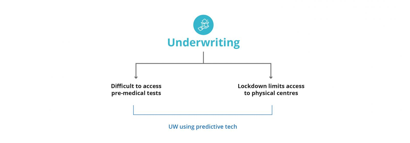 insurance lifecycle mapped to underwriting