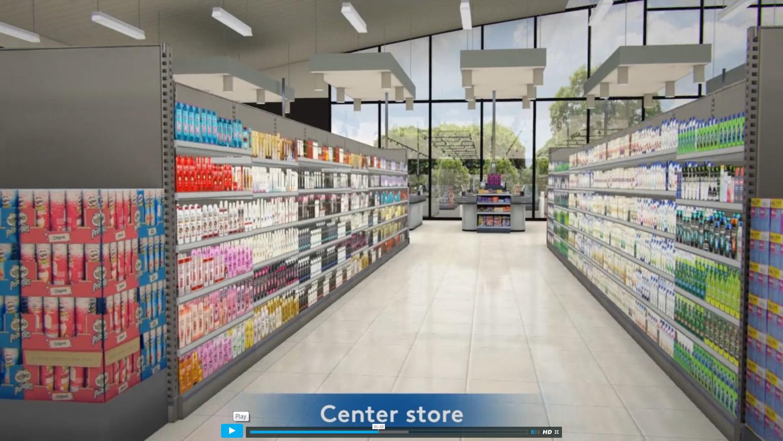 VR shopping
