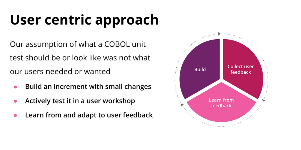 User centric approach