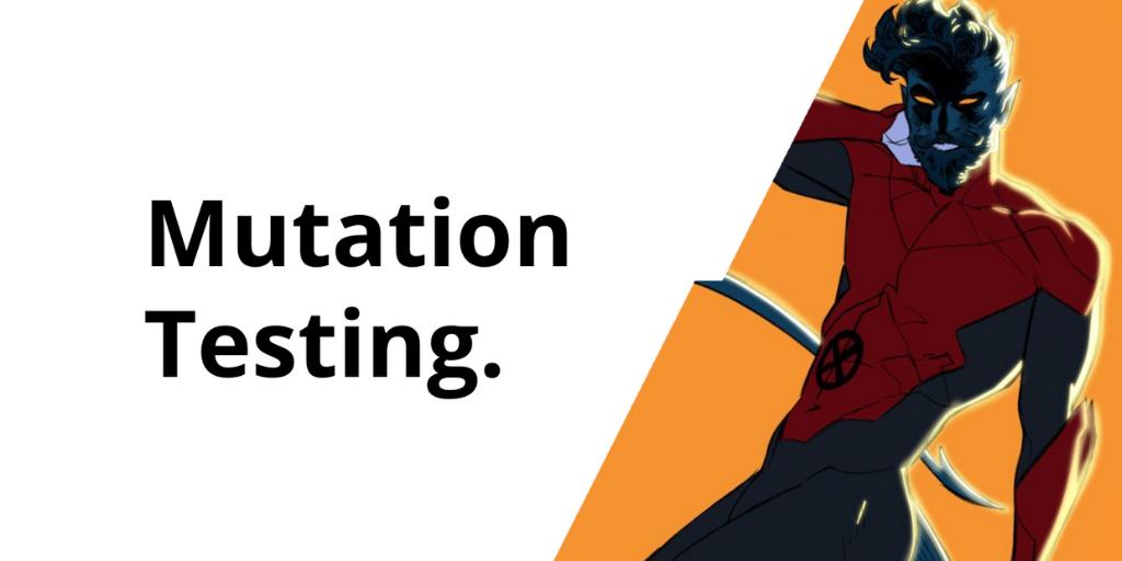 Mutation testing
