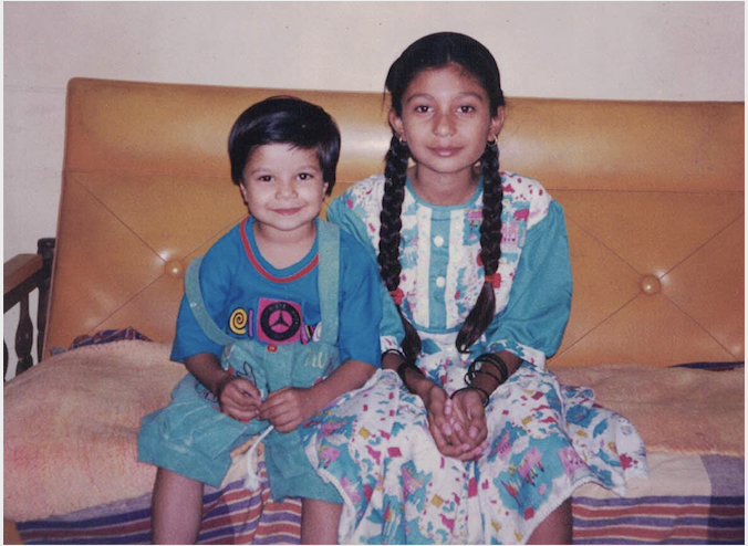 Adi as a child