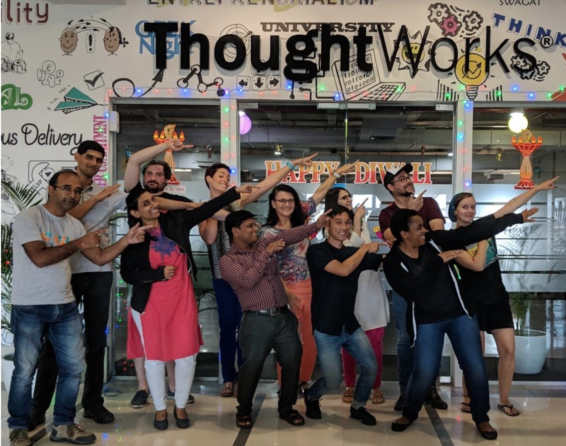 Ann at ThoughtWorks University