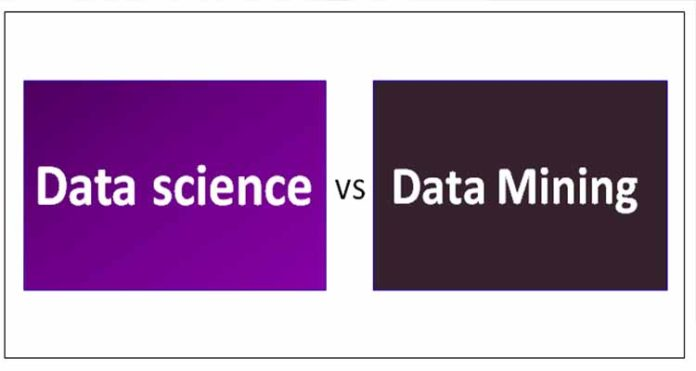 Difference between Data Science and Data mining
