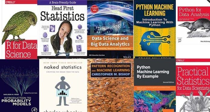 Top 10 Best Data Science Books to learn in 2020