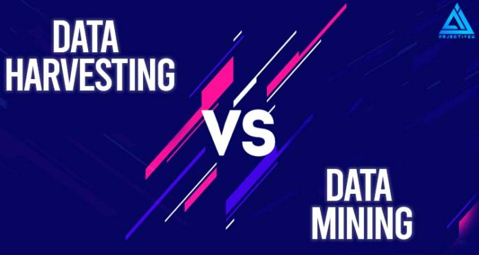 Data Harvesting vs Data Mining